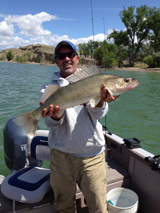 Very nice fish taken by Jeff Olson at Angostura.